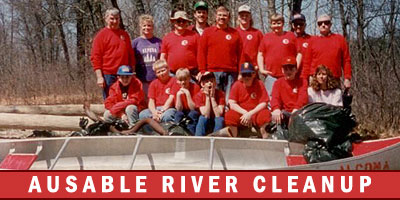 AuSable River Cleanup